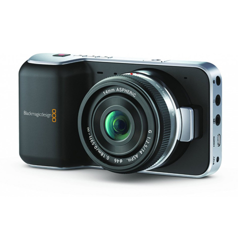 BLACK MAGIC POCKET CINEMA CAMERA